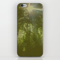 emerald iPhone & iPod Skins featuring Emerald by Ellie Rose Flynn