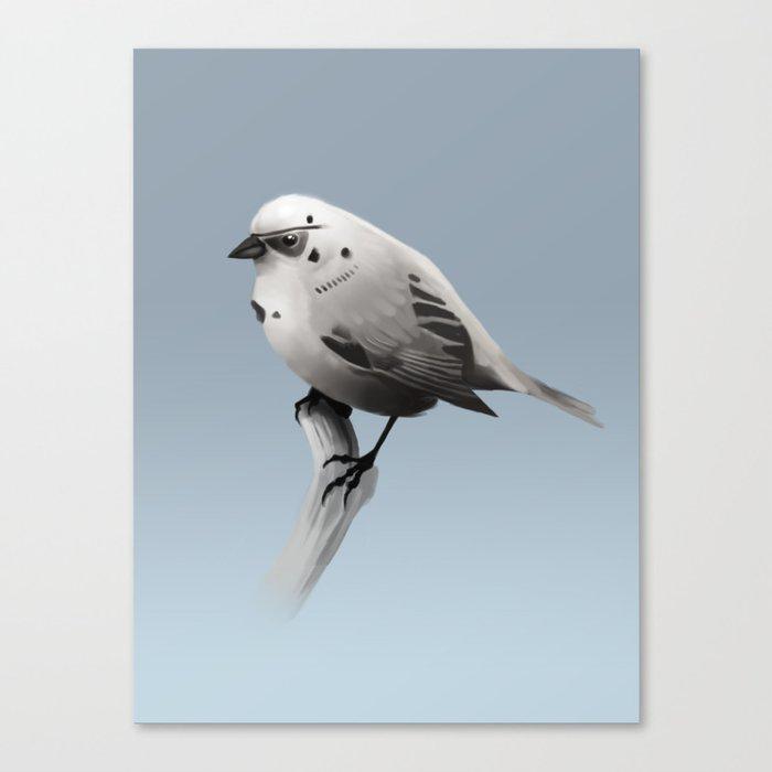 Bird Trooper Canvas Print