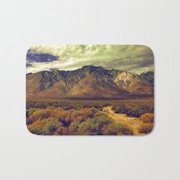 California Postcards Lone Pine Bath Mat