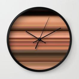 Smile Through Time Wall Clock