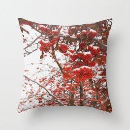 rowan-tree Throw Pillow