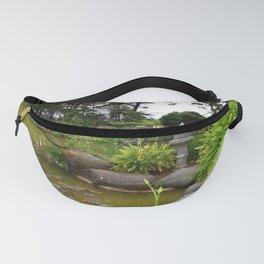 Japanese Garden Lantern Fanny Pack
