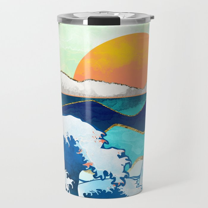 Stormy Waters Travel Mug