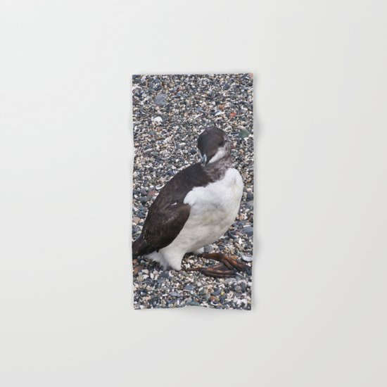 Razorbill Walking on the Beach Hand & Bath Towel