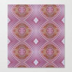 pink umbrella's made of sugar Canvas Print