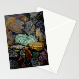 Glacier N.P. Rocks Stationery Cards