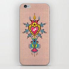 The Heart Rules iPhone & iPod Skin