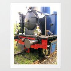 Steamloc. Art Print