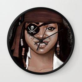 Pirate Wall Clock