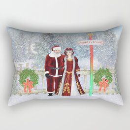 With love from the North Pole Rectangular Pillow