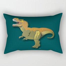 Dinosaur - 'A Fantastic Journey' Rectangular Pillow