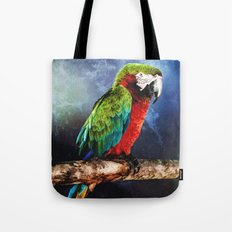 Mister Macaw Tote Bag