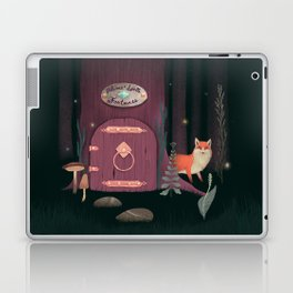 Sorcerer Of Woodland Charms Potions Spells And Fortunes Laptop & iPad Skin