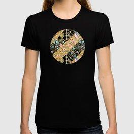 Crazy Patchwork Triangles T-shirt
