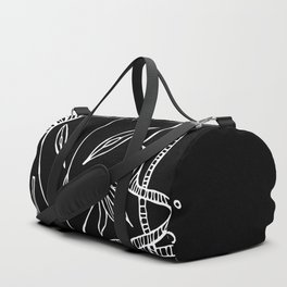 Alien-teenager from Orion Duffle Bag