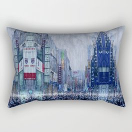 The Downpour Rectangular Pillow