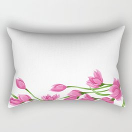 Roses crown Rectangular Pillow
