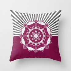 Don't Mess With Your Rising Sun Throw Pillow