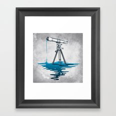Liquid Universe Framed Art Print