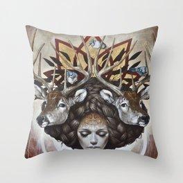 Douceurs de Virginie Throw Pillow