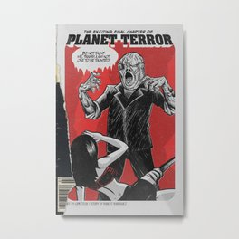 Bargain Bin: Planet Terror Metal Print