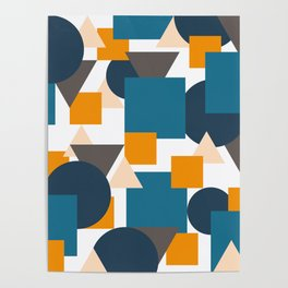 Geometric Mixture Poster