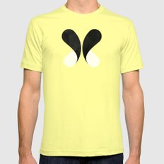 Come Together (Slate) Lemon SMALL Mens Fitted Tee