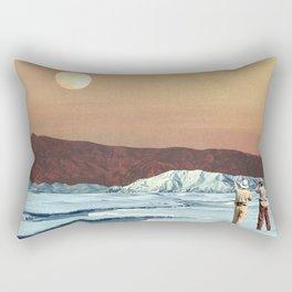 Environmental Differences Rectangular Pillow