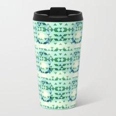 Green Tribomb Metal Travel Mug