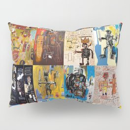 Basquiat Montage Pillow Sham