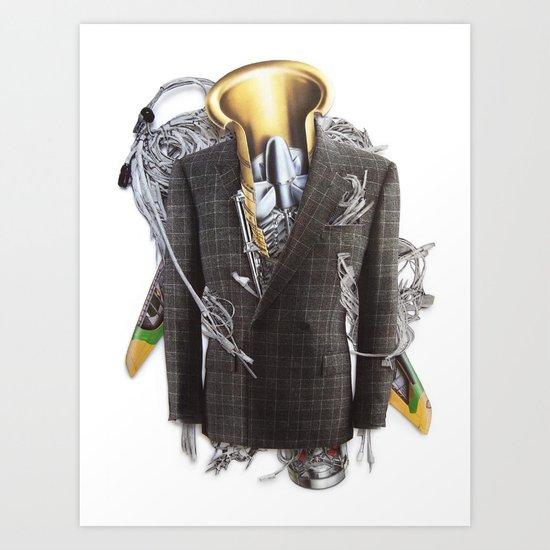 Big Boy | Collage Art Print
