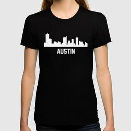 Austin Texas Skyline Cityscape T-shirt