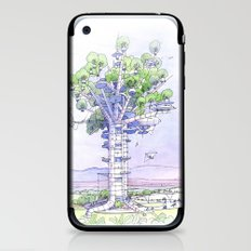 La Citta' albero... iPhone & iPod Skin