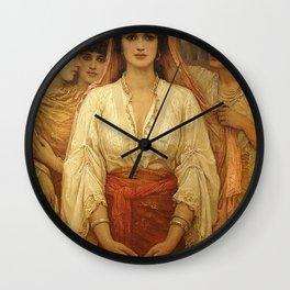 Queen Esther - Kate Gardiner Hastings Wall Clock