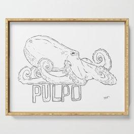 Pulpo Serving Tray