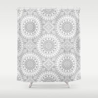 arab Shower Curtains featuring Arab by Sandra Kurasz
