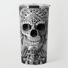 Skull Spade Travel Mug