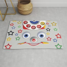 Classic Retro vintage Smiley Toys Dial Phone Rug
