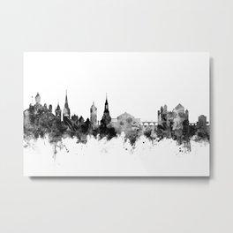 Schaffhausen Switzerland Skyline Metal Print