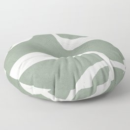 Abstract Lines II Floor Pillow