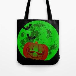 Full Halloween Moon Tote Bag
