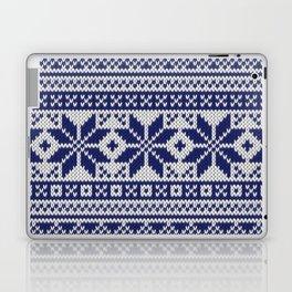 Winter knitted pattern 5 Laptop & iPad Skin