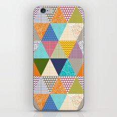 seaview beauty triangles iPhone & iPod Skin