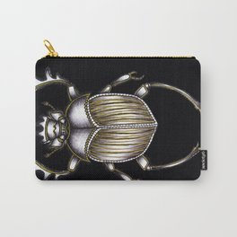 Scarab's Curse in Black Carry-All Pouch