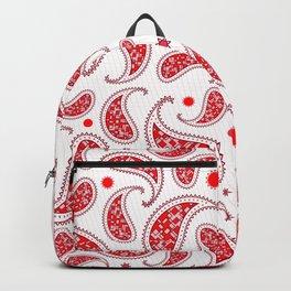 Red'n Paisley Backpack