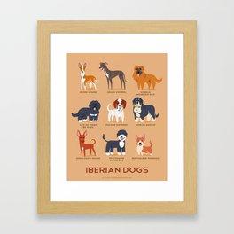 IBERIAN DOGS Framed Art Print