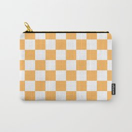 Honey aesthetic Checkerboard Pattern Carry-All Pouch