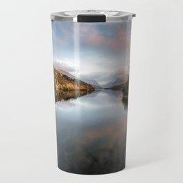 Lake Padarn Sunset Travel Mug