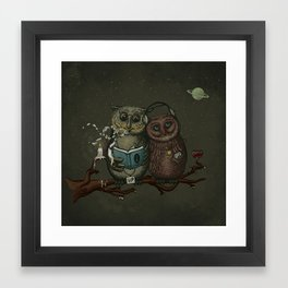 nightowls Framed Art Print