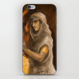 Gold and Clay iPhone Skin